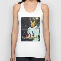 the xx Tank Tops featuring xX SPACE CAT Xx by Frankie White