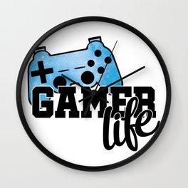Gamer life Wall Clock