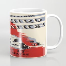 Vintage poster - One Third of a Nation Coffee Mug