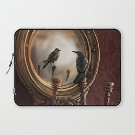 Brooke Figer - Reflection on Perception Laptop Sleeve