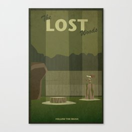 Lost Woods Canvas Print