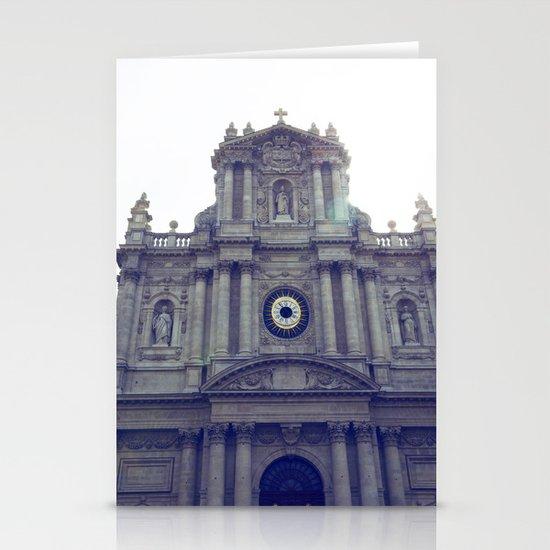 Eglise Saint Paul, Le Marais, Paris Stationery Cards