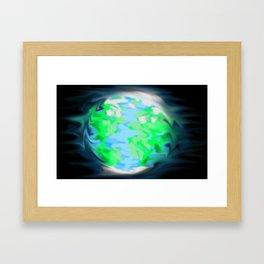 Earth Glow Framed Art Print
