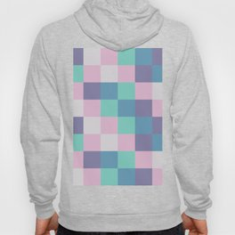 Abstract square pastel geometry Hoody