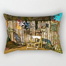 Sidewalk Seat Rectangular Pillow