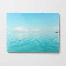 Sky/Sea Metal Print