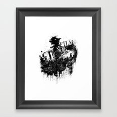 Like a Film Noir Framed Art Print