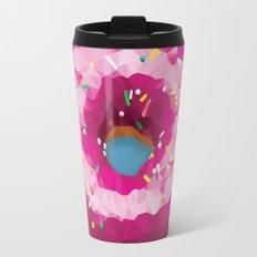 Lowpoly Donut Travel Mug