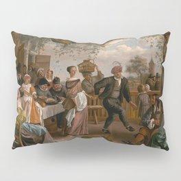 The Dancing Couple - Jan Steen Pillow Sham