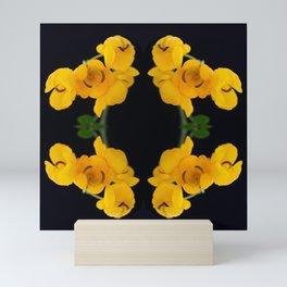 Botanical Kaleidoscope 2 Mini Art Print