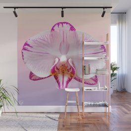 Orchid Portrait Wall Mural