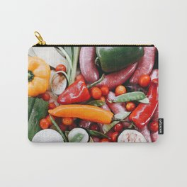 Sunday food #eclecticart Carry-All Pouch