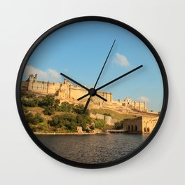 Amber Fort Wall Clock
