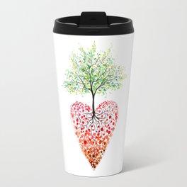 Tree of life heart Travel Mug
