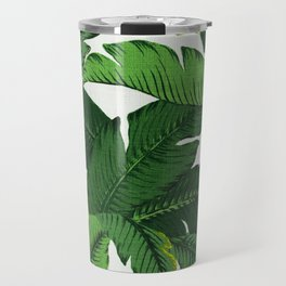 banana leaf palms Travel Mug
