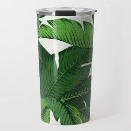 banana leaf palms Travel Mug