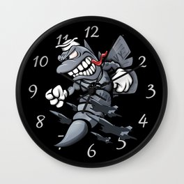 F/A-18 Hornet / Super Hornet Fighter Attack Military Jet Cartoon Wall Clock