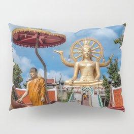 Big Buddha Temple Pillow Sham
