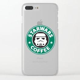 StarWars Coffee Clear iPhone Case