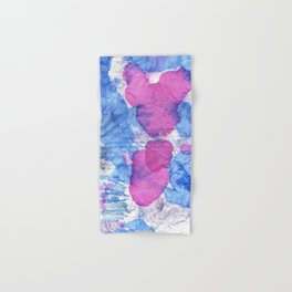 bisexual abstract Hand & Bath Towel