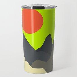Caustic Crimson Travel Mug