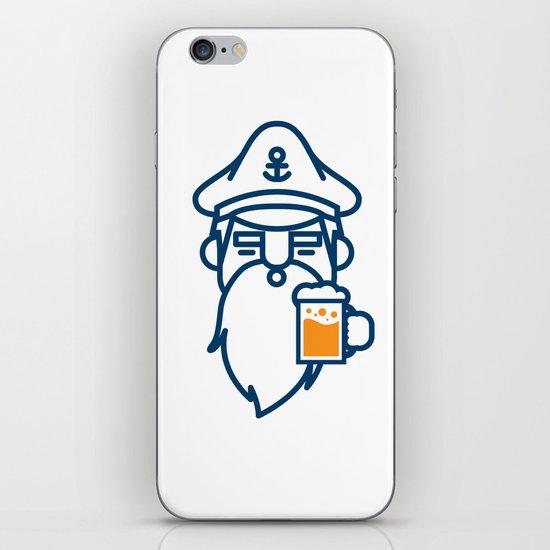 beard & beer  iPhone Skin