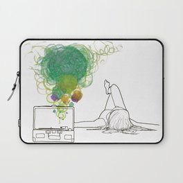 Record Playing Laptop Sleeve