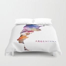 Argentina Duvet Cover