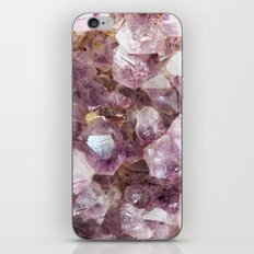 Amethyst and Gold iPhone Skin