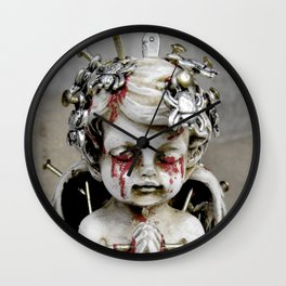 Massacred Angel: mixing Heaven with Hell. Wall Clock