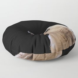 Man's Best Friend - Labrador Dog Portrait Floor Pillow