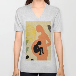 Motherhood Unisex V-Neck