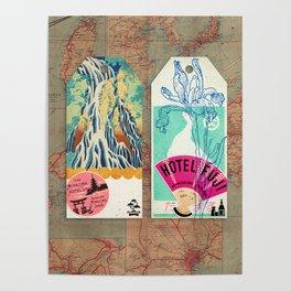 Label Fables, Japan I :: Fine Art Collage Poster