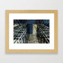 Urban Sound of BERLIN Framed Art Print