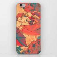 umbrella iPhone & iPod Skins featuring Umbrella by Arisu