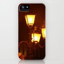 Italian Streetlights And Balloons iPhone Case
