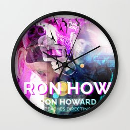 Ron Howard Teaches Directing Wall Clock