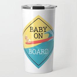 Baby On Board Travel Mug