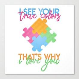 Autism Colors v1.0 Canvas Print