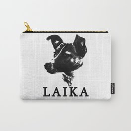 Laika the Communist Space Dog Carry-All Pouch