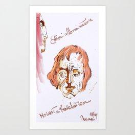 Mozart & Salieri Art Print