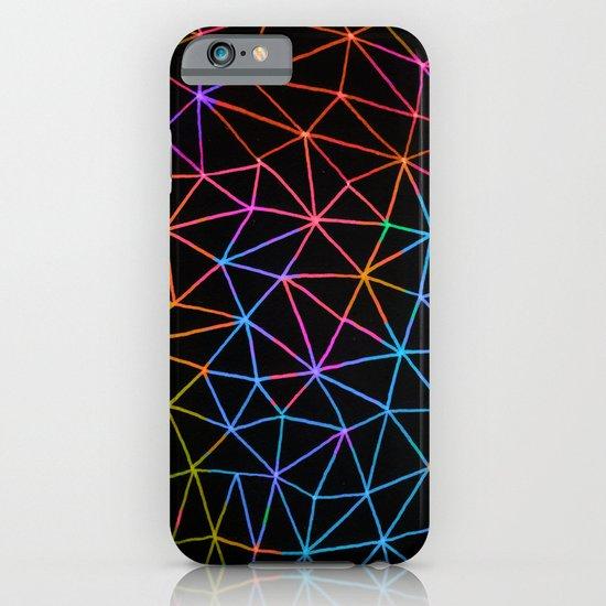 Geometric Glow iPhone & iPod Case