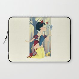 Snow White Pin Up Laptop Sleeve