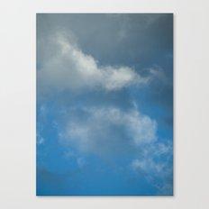 Grace blue version Canvas Print