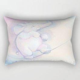 Never Look Down Rectangular Pillow