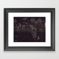Last night Dream Framed Art Print