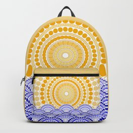LIGHT OF DAWN (abstract tropical) Backpack