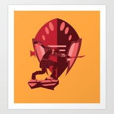 Armour Art Print