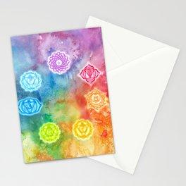 Chakras Stationery Cards
