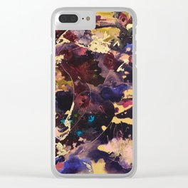 Serenity Blush Clear iPhone Case
